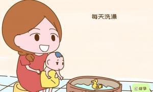 Cuối thu, thời điểm mẹ đừng tắm cho bé kẻo con ốm ho sụt sịt