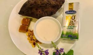 Sinh tố khoai lang tím: Món ngon vừa lạ vừa dinh dưỡng, đảm bảo trẻ rất thích