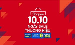 Shopee tăng cường hỗ trợ các thương hiệu mở rộng quy mô và kinh doanh thành công trên nền tảng TMĐT, thông qua sự kiện thường niên 10.10 Ngày Sale Thương Hiệu