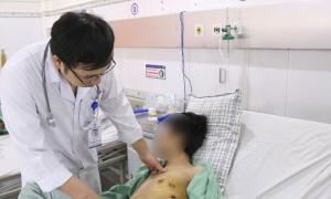 Hút thuốc lá 5 năm, chàng trai 23 tuổi bị tràn khí màng phổi