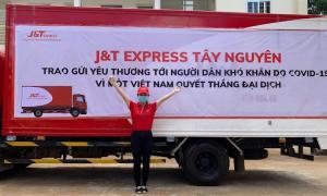 J&T Express chung tay hỗ trợ người dân gặp khó  do dịch tại Tây Ninh