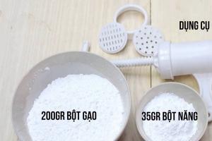 Cách đơn giản để tự làm bún tươi tại nhà vừa an toàn lại đảm bảo vệ sinh